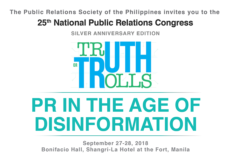 25th PR Congress pushes to uphold truth in the age of disinformation