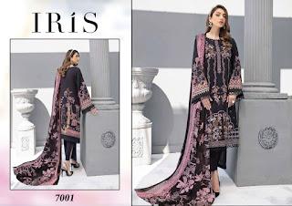 Iris Vol 7 Cotton Print Pakistani  Dress Material Collection