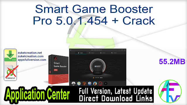 Smart Game Booster Pro 5.0.1.454 + Crack