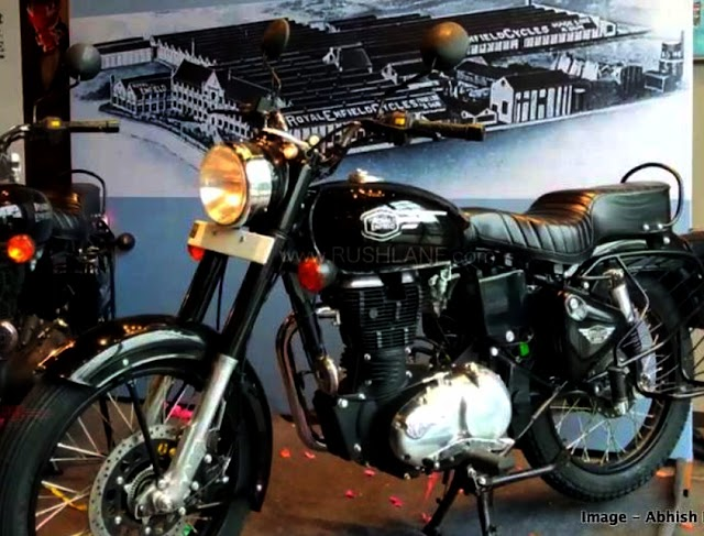 Royal Enfield new 350x bullet launch.