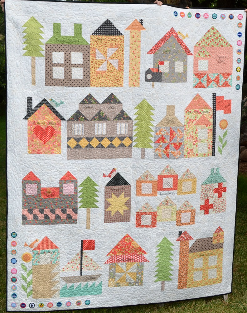 Happy Quilting Be My Neighbor Camp Moda Version