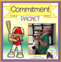 Commitment Character Education - Social Skills Teaching Packet