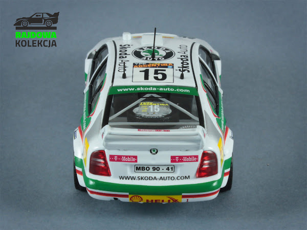 IXO for Rally Car Collection Skoda Octavia WRC Evo3 Rally Argentina 2003