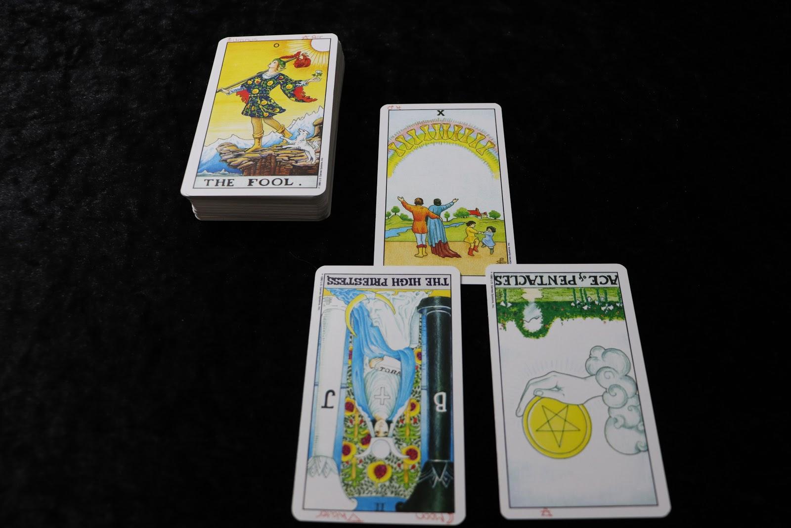 shadow card in a tarot reading
