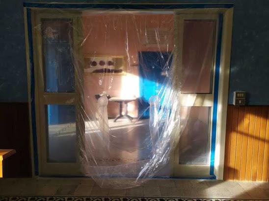 CHIEUTI (Fg): stanza degli abbracci alla Casa di Riposo, grazie ad una donazione
