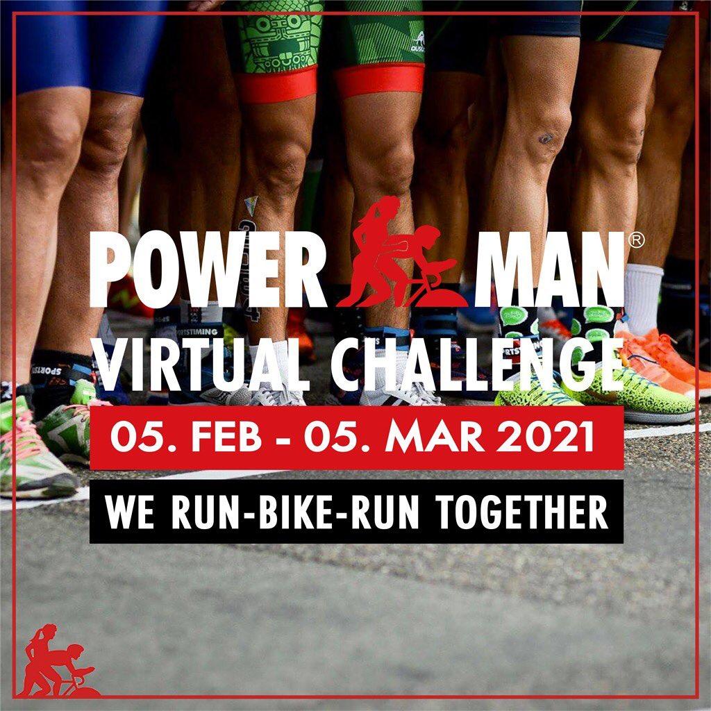 Powerman Virtual Challenge • 2021