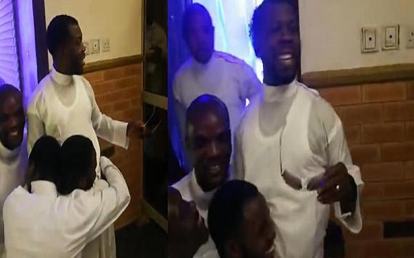 Convicted Genesis prophet returns to church