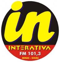 Rádio Interativa FM 101,3 de Ituiutaba MG ao vivo