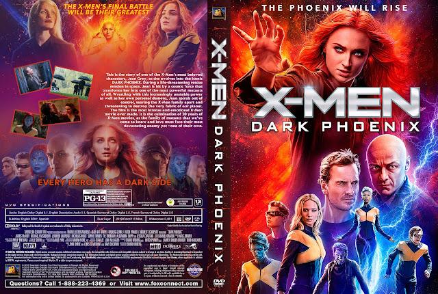 Dark Phoenix DVD Cover
