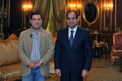 Falcon and El-Sisi
