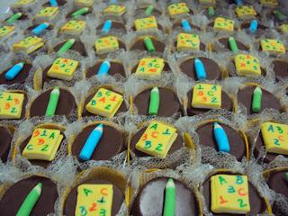Mini pães de mel - Novela Carrossel