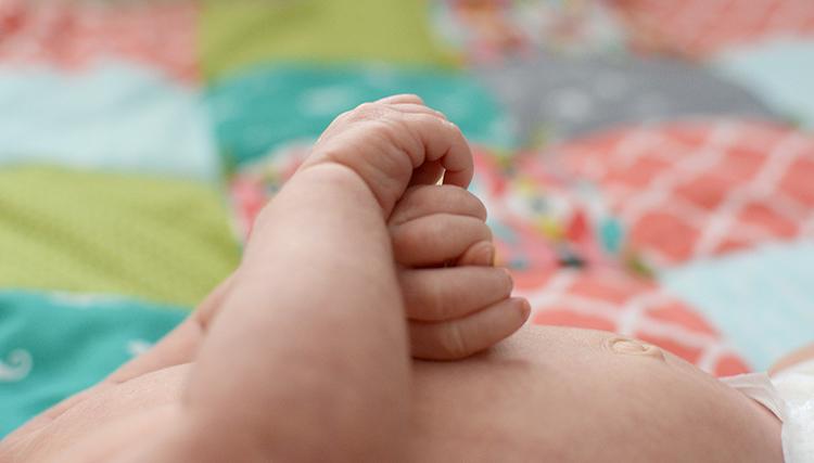Ellis James, baby update - one month | My Darling Days