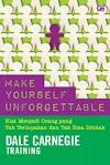 Blurb Make Yourself Unforgettable