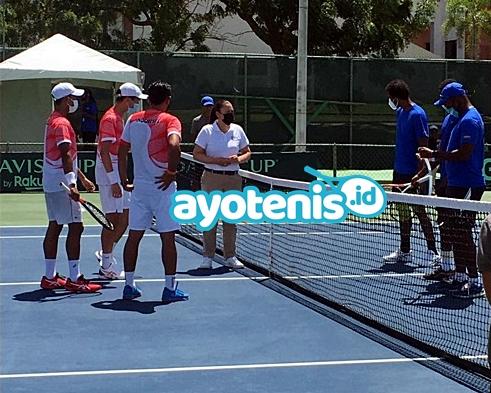 Davis Cup: Justin / Gugun Vs Darian King / Haydn Lewis