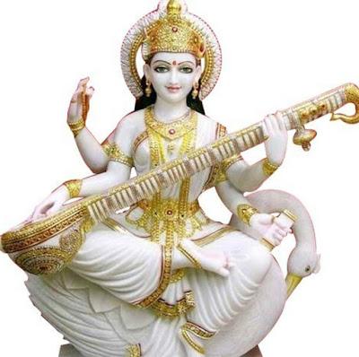 Picture Of Maa Saraswati Devi