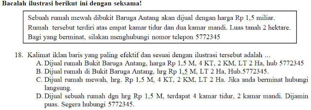 Kisi-Kisi, Soal Dan Kunci Tanggapan Pas Bahasa Indonesia Smp Kelas 8 Semester Ganjil