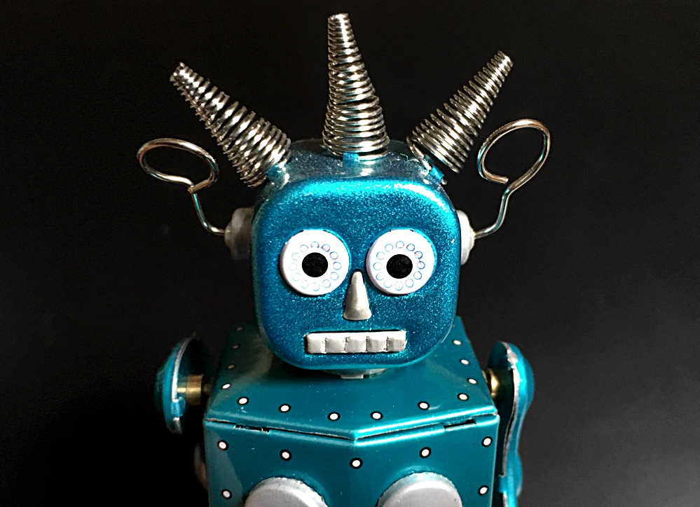 Scale Model News Tinplate Robots Sci Fi Investment For The Future