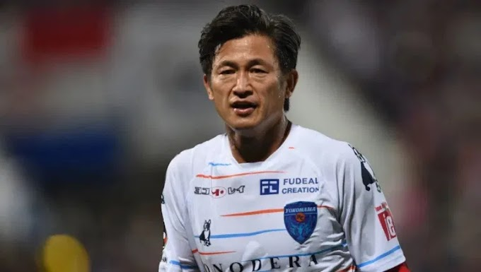 Japan's Oldest Footballer Signs New Contract Ahead Of 54th Birthday
