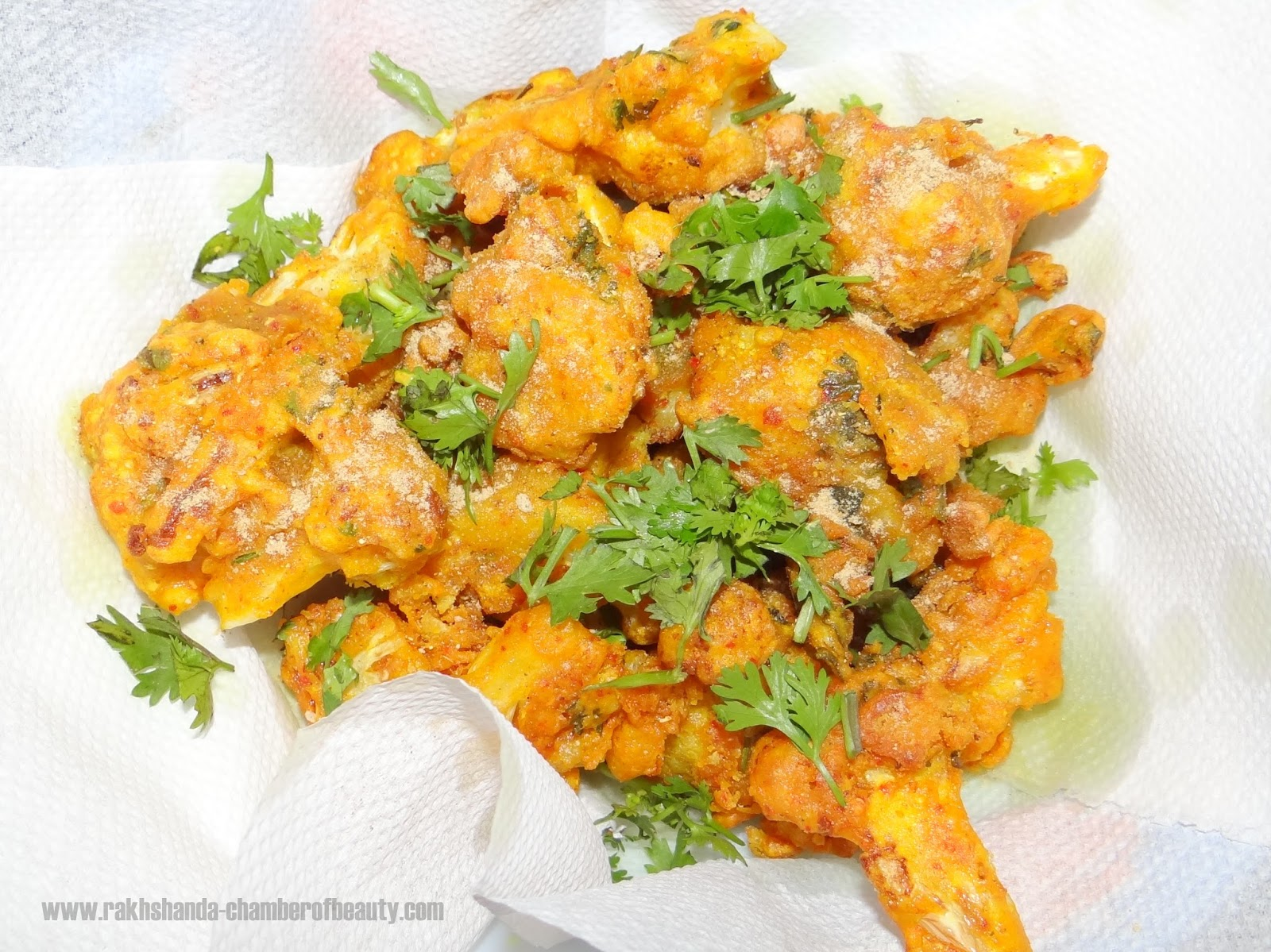Spicy Indian Gobi(Cauliflower) Fry recipe