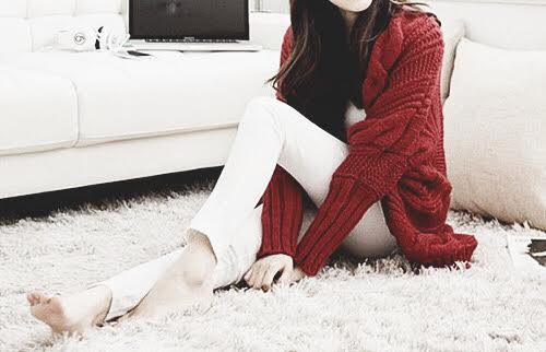 Cardigan Red Cardigan Red