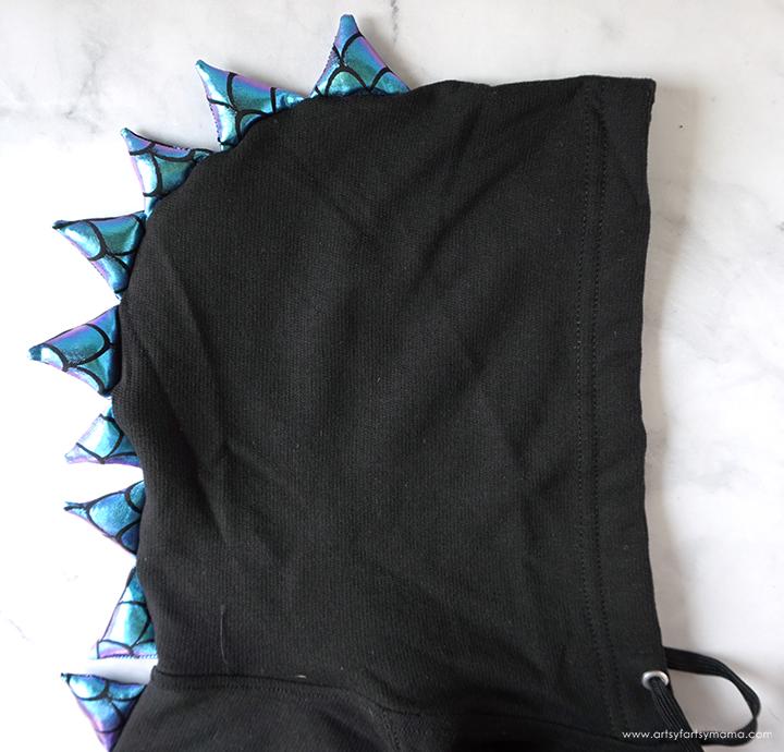 DIY Dragon Hoodie Costume
