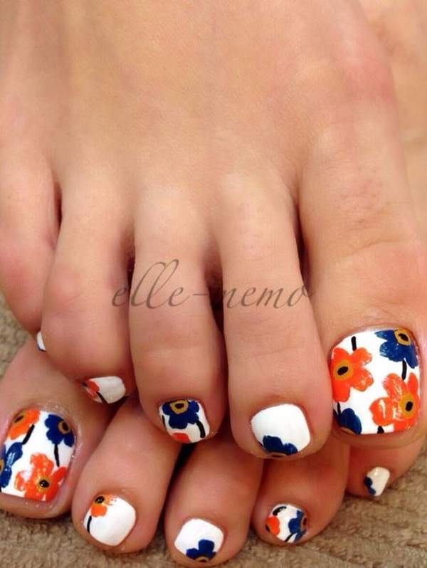 Cute toe nail designs and ideas 2016 fashion newbys with so many cute looking toe nail designs to choose from you can choose your favorite one and have it on your toes we have made the choices simpler for prinsesfo Image collections