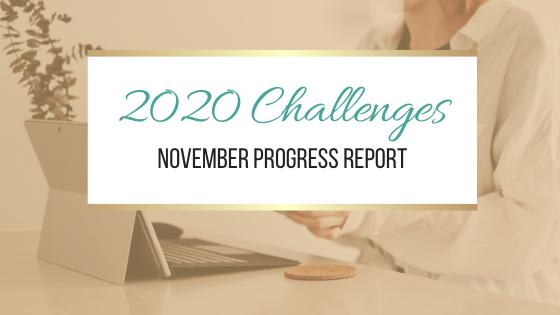 2020 Challenges: November Update