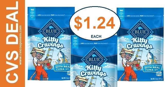 Blue Buffalo Pet Treat Deals at CVS