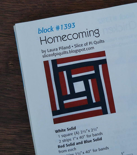 Quiltmaker 100 Blocks Homecoming - Slice of Pi Quilts