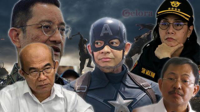 Dari Bansos hingga Data, 'Perang Urat' Anies VS 4 Menteri Jokowi!