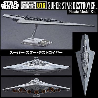 Vehicle model 016 Star Wars Super Star Destroyer Plastic From Japan