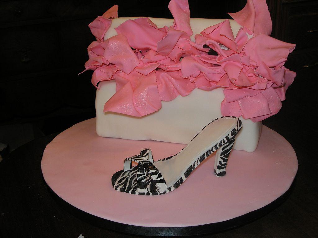 Cake Heel Birthday High Shoes Happy