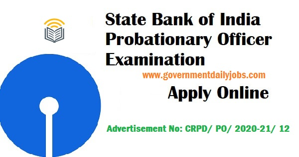 SBI PO 2020 Notification Out