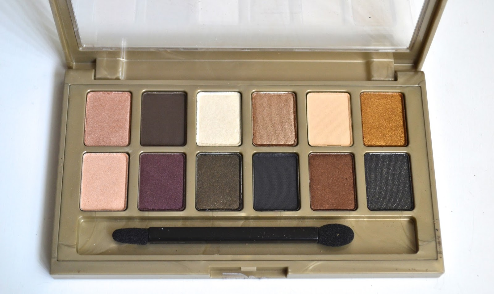 Aquaheart Maybelline The 24K Nudes Eyeshadow Palette -1734