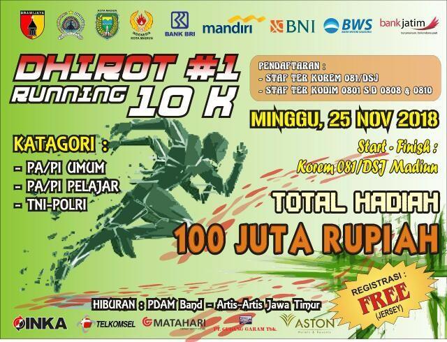 Dhirot Running 10K • 2018
