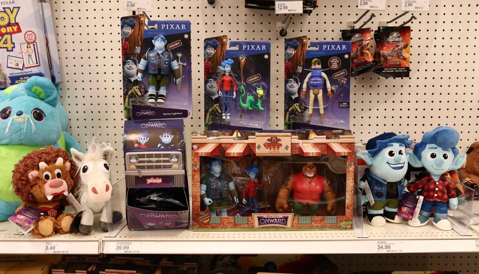 disney pixar onward toys mattel