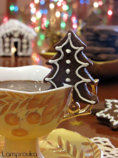 Ρόφημα ζεστής σοκολάτας.