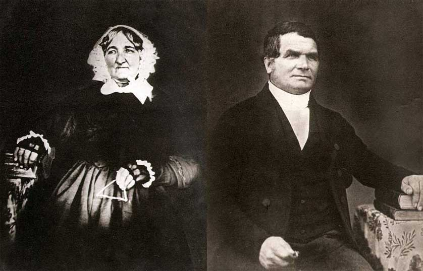 Charlotte and James Kemp.