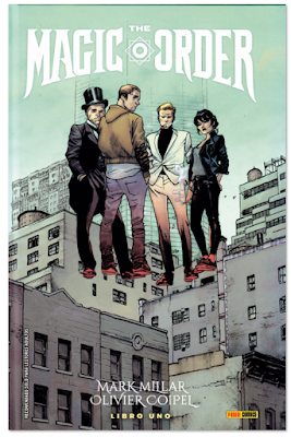 Reseña de THE MAGIC ORDER de Mark Millar y Olivier Coipiel - magia comic
