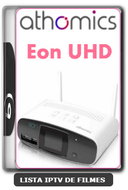 Athomics Eon UHD Nova Atualização Melhorias No Sistema V2.0.3 - 08-02-2020