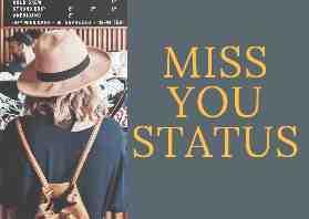 punjabi miss you status