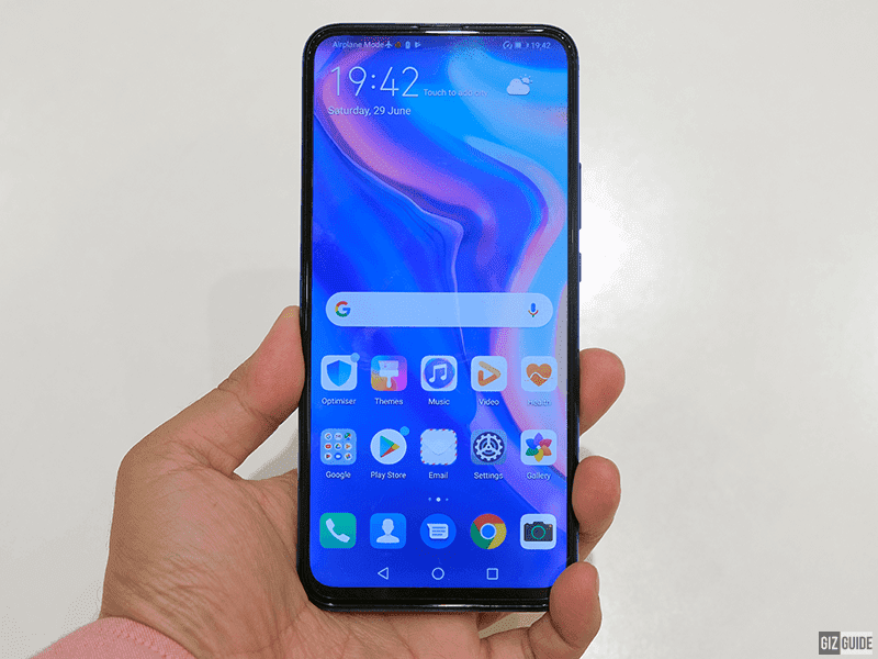 Y9 Prime 2019 with an all-screen display