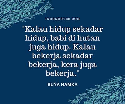 Quote Buya Hamka tentang kerja
