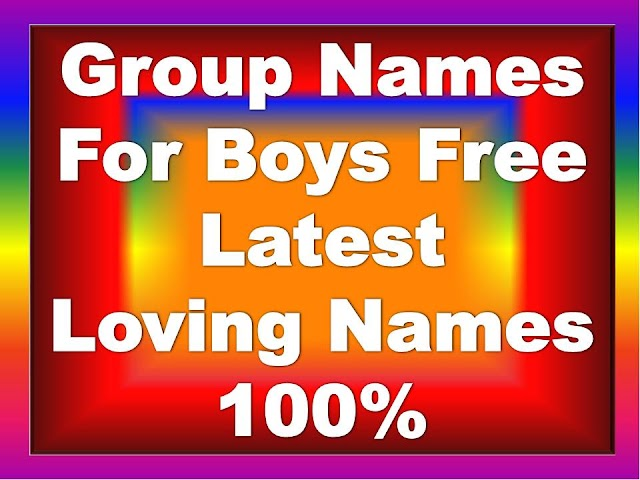 Group-Names-For-Boys