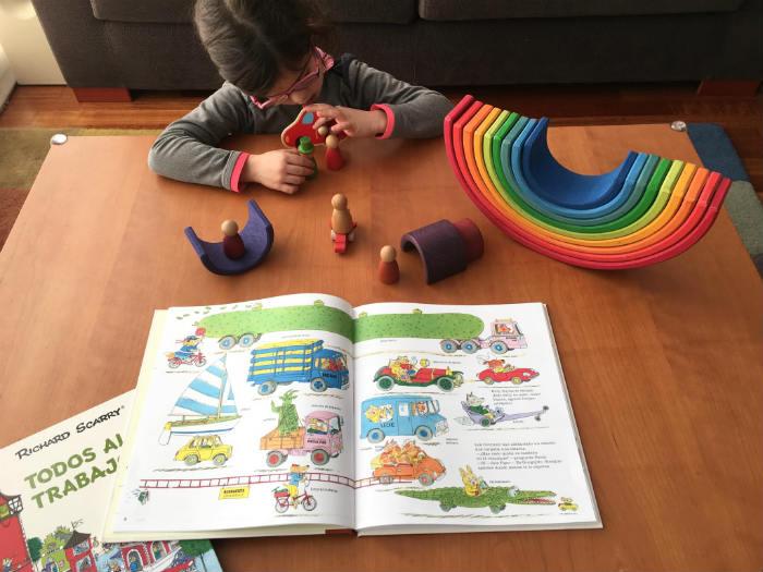 Richard Scarry libros infantiles Todo sobre ruedas Duomo editorial