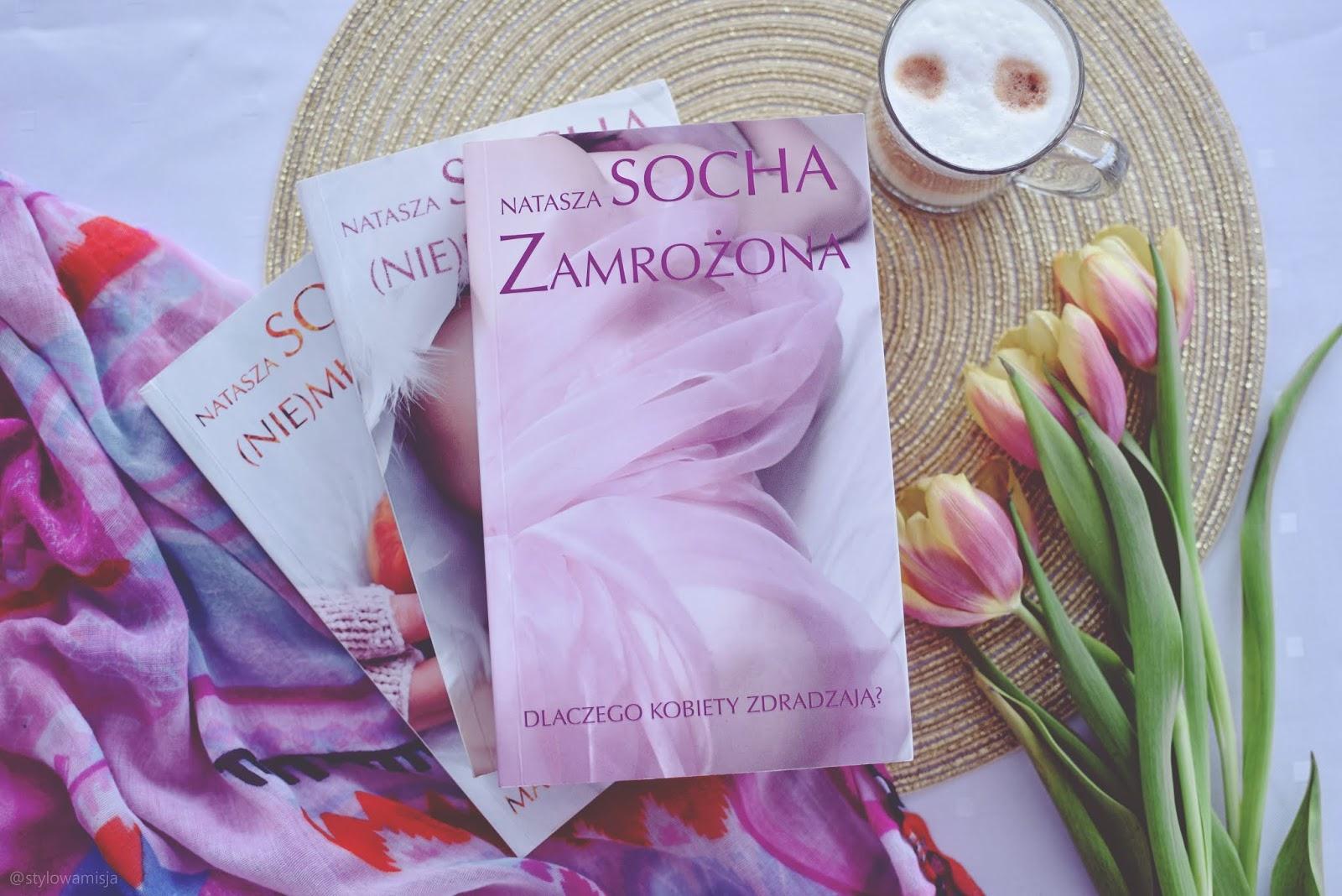 miłość, NataszaSocha, opowiadanie, powieśćobyczajowa, recenzja, romans, WydawnictwoEdipresse, Zamrożona, zdrada,