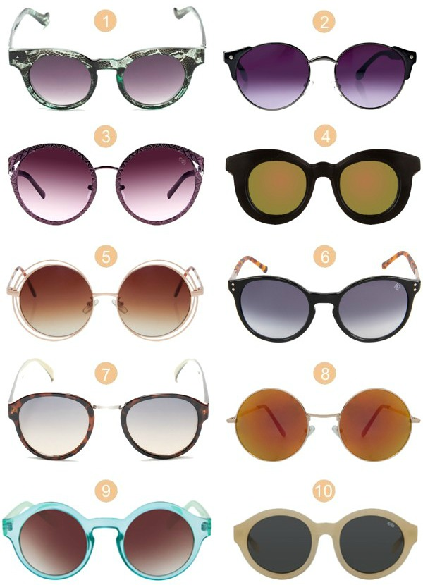 Gosto Disto!  Óculos Redondos ec5a1d1732