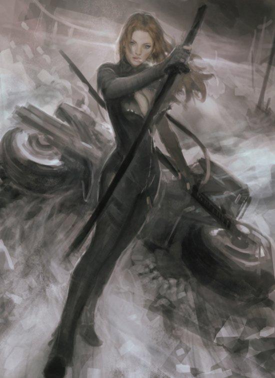 Lee Seung Hee (Seunghee Lee) artstation deviantart arte ilustrações fantasia ficção científica games mulheres beleza