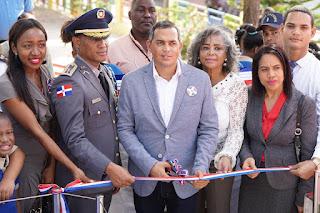 Alcaldía de Haina inaugura Plaza de la Bandera en el Parque Municipal Antonio Guzmán