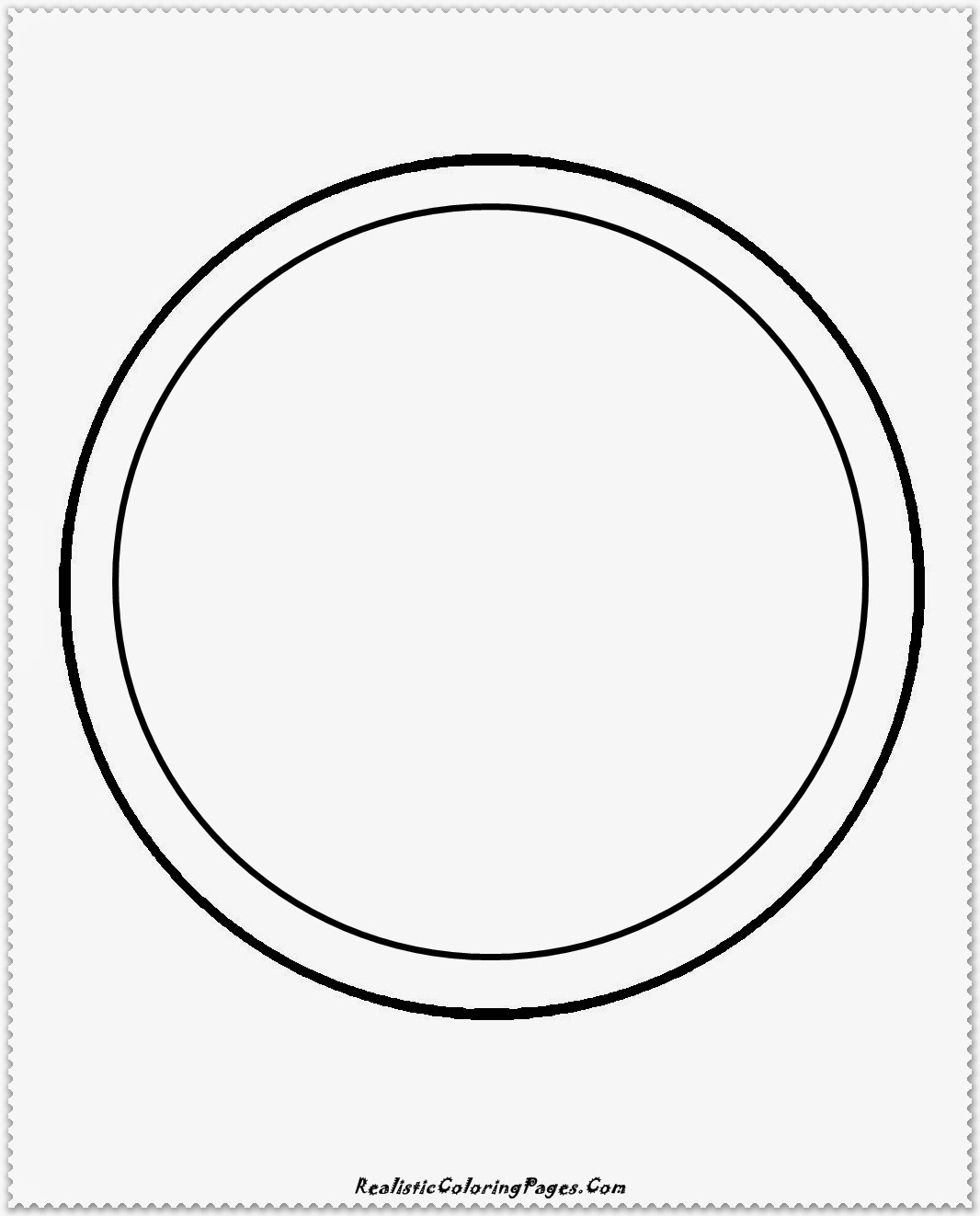 simple circle coloring pages